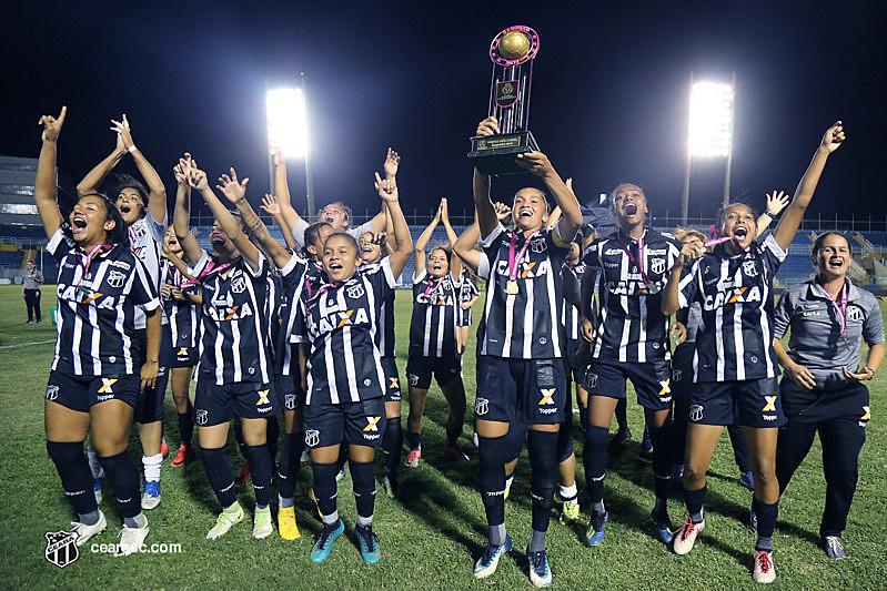 O time do Ceará é o atual campeão da competição.