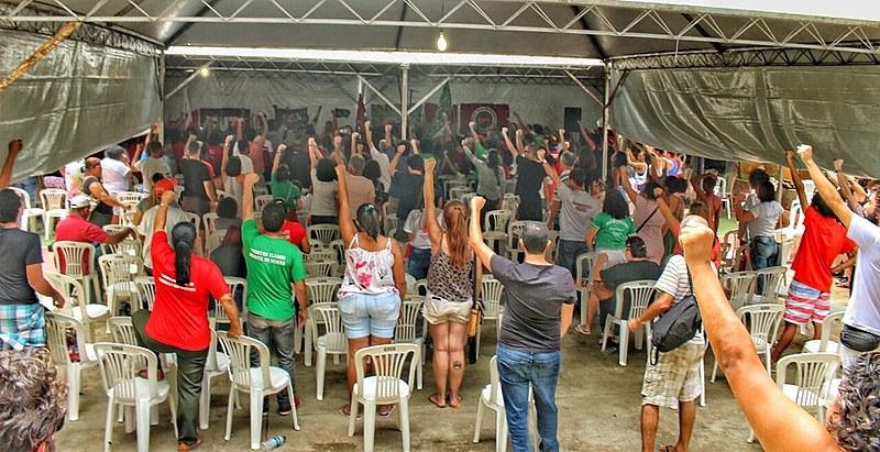 Cerca de 450 ativistas, de oito grandes regiões do estado, foram divididos em 27 mesorregiões