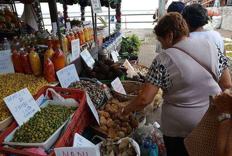 """Mercado do """"Ver-o-Peso"""", em Belém (PA)"""