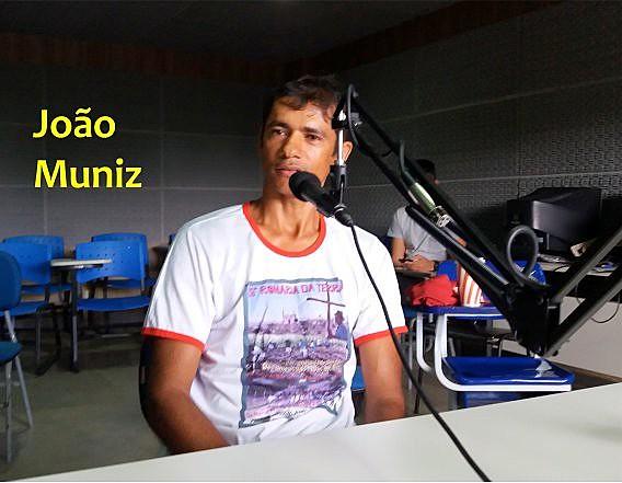 João Muniz, poeta e militante da CPT