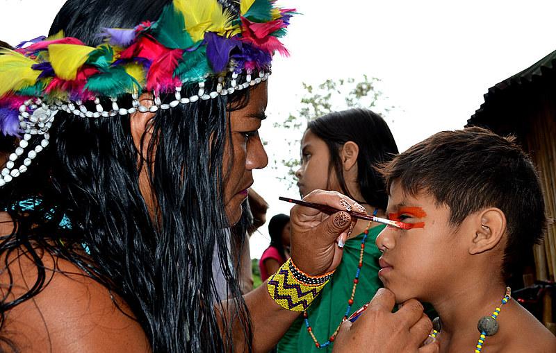 O povo Tupi-Guarani foi um dos únicos a resistir à colonização europeia