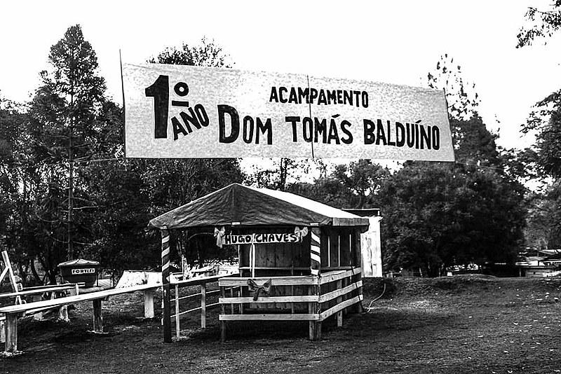 Cerca de três mil famílias vivem no acampamento em Quedas do Iguaçu