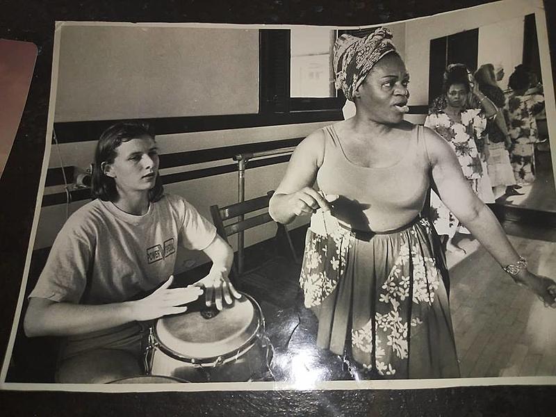 oficina dança afro