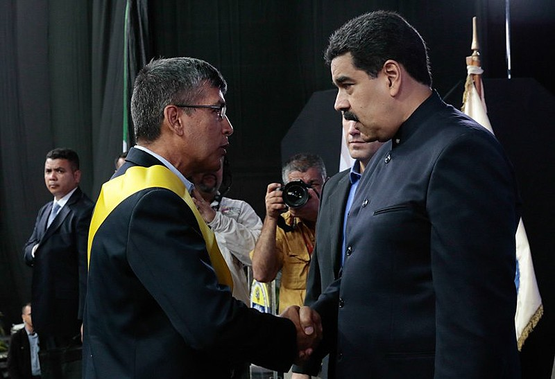 Presidente Nicolás Maduro e  Ronald Blanco La Cruz