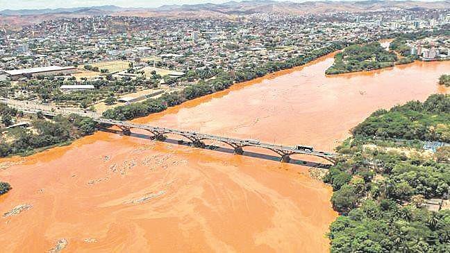 Águas subterrâneas da bacia do Rio Doce  também estão contaminadas com metais pesados, segundo estudo