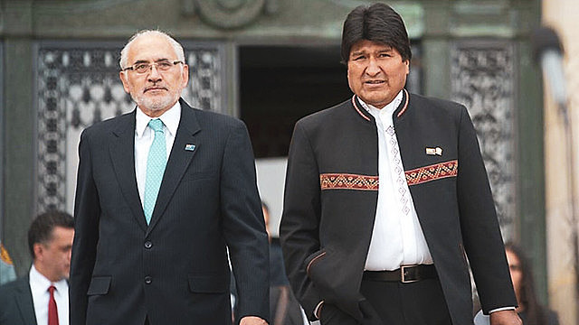 President Evo Morales believest that he will win without a second round after the counting of the remaining 17% of the votes
