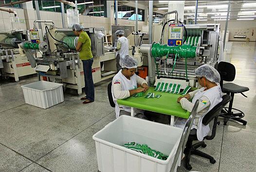 Trabalhadoras de linha de produção, categoria com maior incidência de acidentes