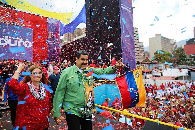 """""""Dedicarei meu mandato para mudar a economia desse país, para colocá-la a serviço do povo venezuelano"""""""