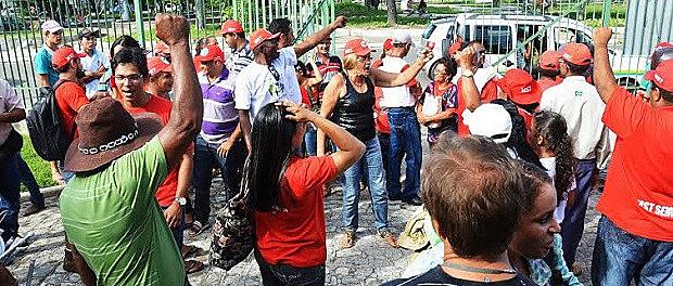 Ocupação do MST na sede do INCRA em Sergipe