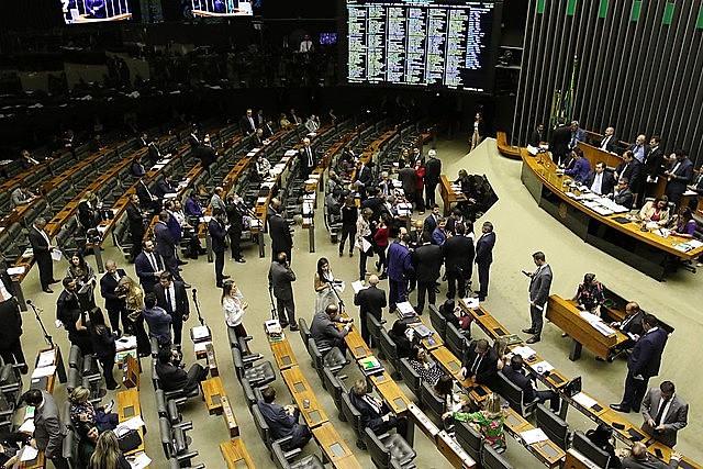 Pleno de la Cámara durante la votación final de la reforma de las Pensiones