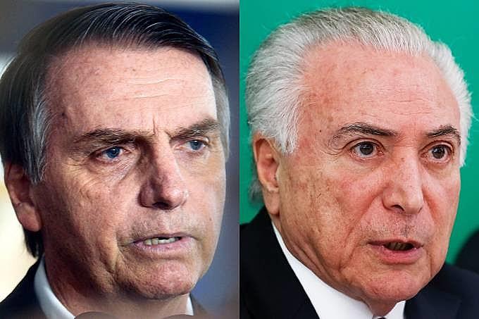 Bolsonaro também votou contra as investigações a Michel Temer