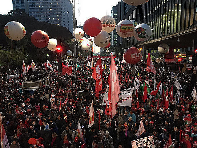 O ano de 2017 foi marcado por diversas lutas protagonizadas por movimentos populares contra retrocessos.