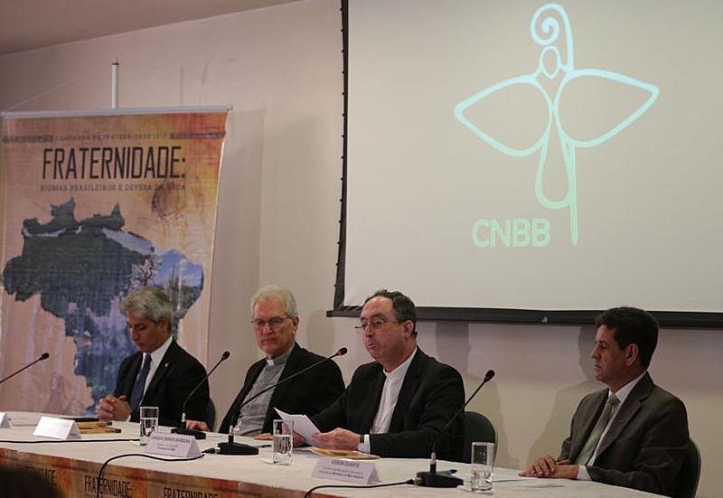 Conferência Nacional dos Bispos do Brasil abriu oficialmente a Campanha da Fraternidade 2017 em Brasília (DF) nesta quarta (1°)
