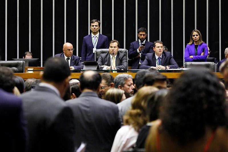 rodrigo maia plenario camara dos deputados