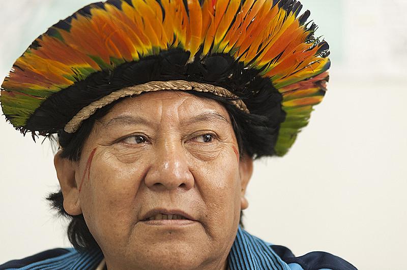 Davi Kopenawa é uma das principais lideranças indígenas do país