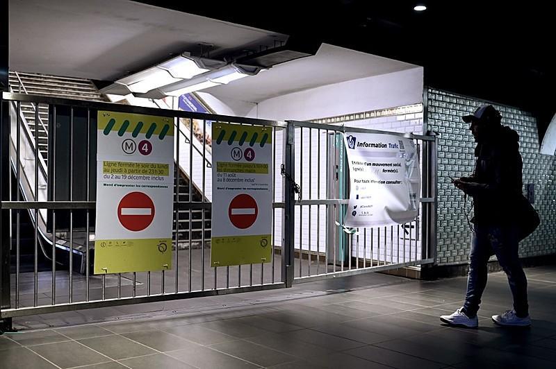 greve metro paris