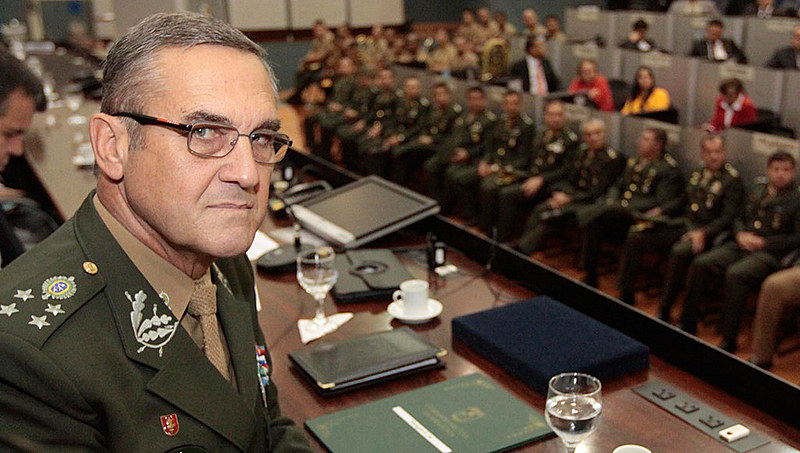 O comandante do Exército brasileiro, general Villas Bôas