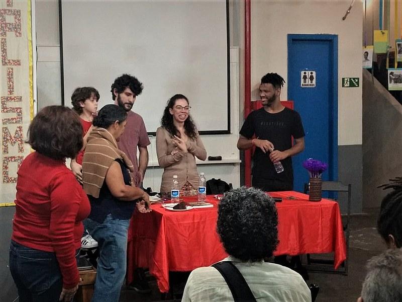 """Cerca de 50 pessoas acompanharam o evento que teve como tema a """"Liberdade de Expressão Ontem e Hoje"""""""