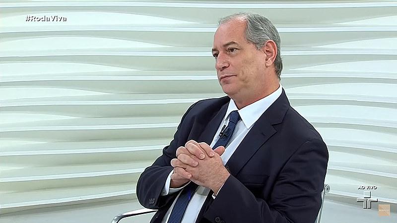 Ciro Gomes, pré-candidato à Presidência da República pelo PDT