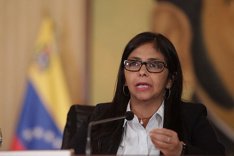 Chanceler venezuelana Delcy Rodríguez criticou declarações de Aloysio Nunes