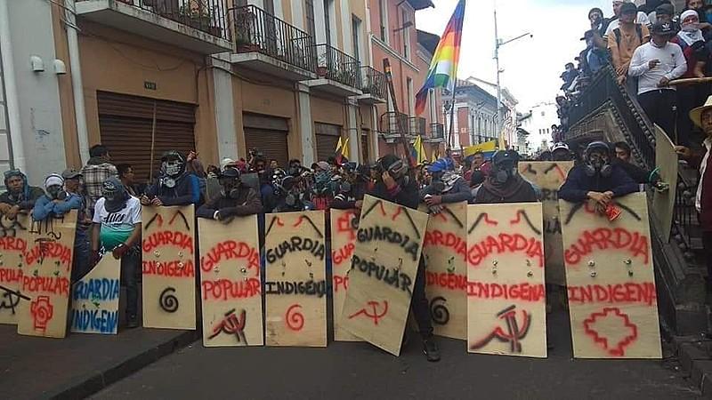 Protestos no Equador: as opções de Moreno se esgotarão em breve