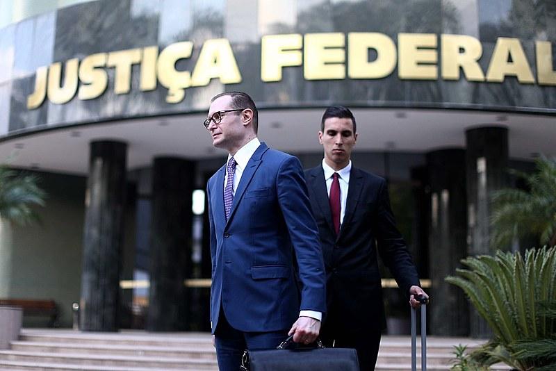 Advogado de defesa do ex-presidente Lula, Cristiano Zanin Martins