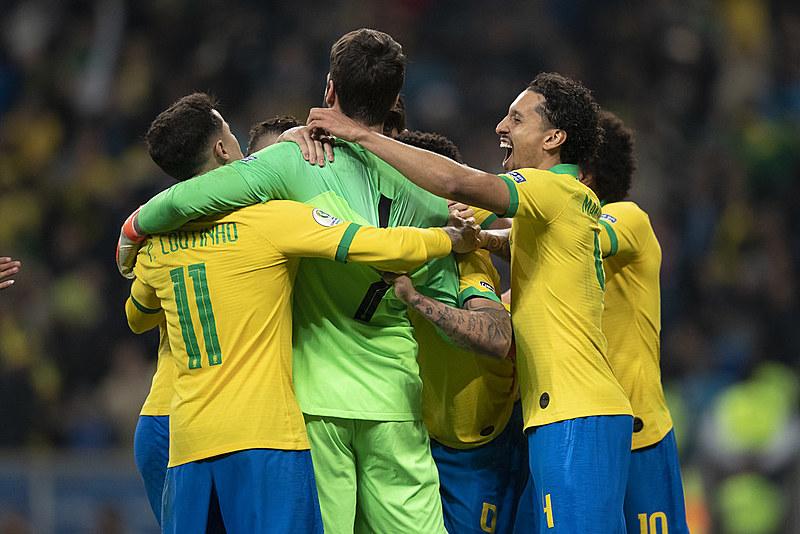 Jogo foi decidido nos pênaltis, com a vitória dos brasileiros por 4 x 3