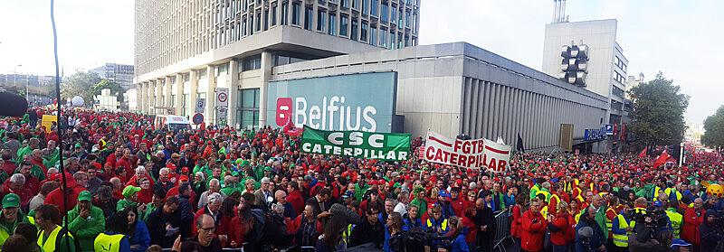 Protesto ocorre no aniversário de dois anos do governo de Michel