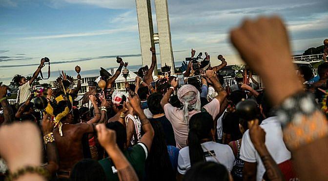 13° acampamento Terra Livre em Brasília