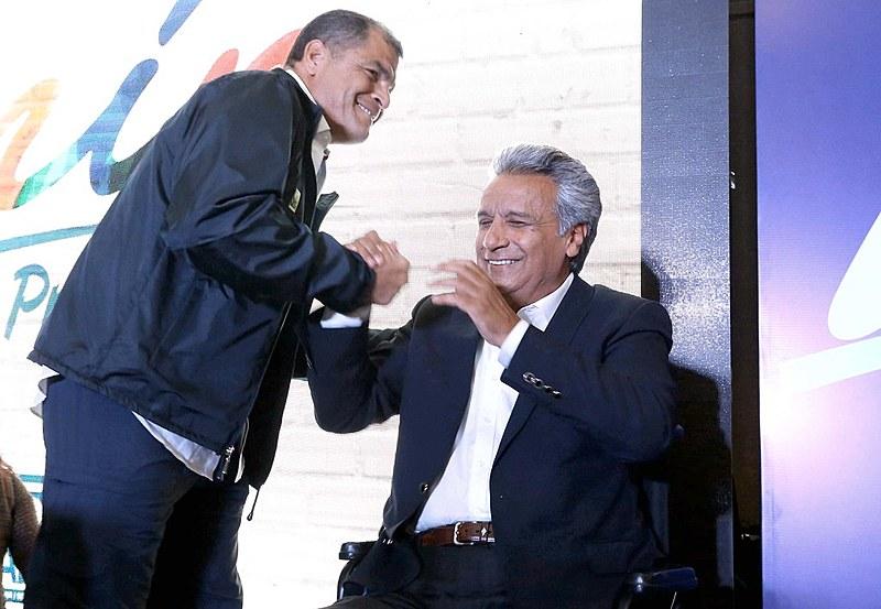 Candidato Lenin Moreno pretende levar adiante a Revolução Cidadã do Presidente Rafael Correa