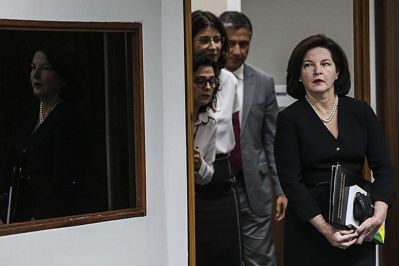 A procuradora geral Raquel Dodge assumiu o posto em setembro de 2017
