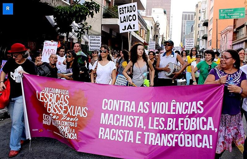"""""""As pautas que as mulheres levavam não eram acolhidas com respeito"""", afirmam organizadoras da caminhada"""