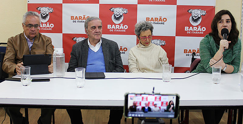 Luis Nassif, Luiz Gonzaga Belluzzo, Raquel Ronlik e Luanda Botelho