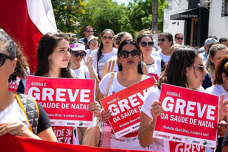 Greve é unificada entre diversos sindicatos e por tempo indeterminado