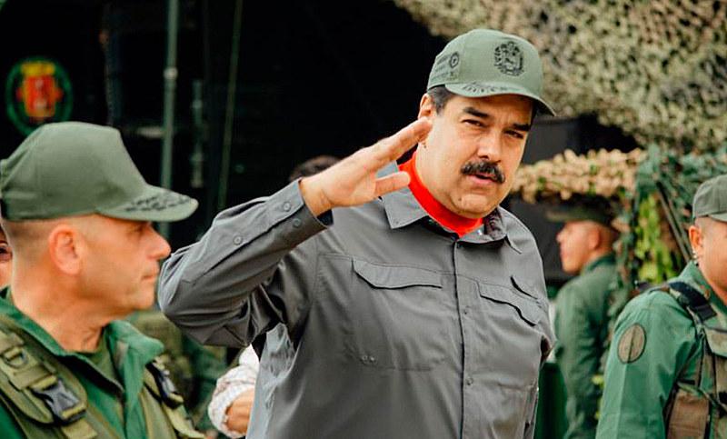 Força Armada Nacional Bolivariana ratificou lealdade ao presidente Maduro em evento na semana passada