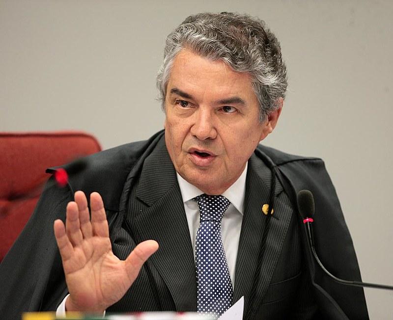 O ministro Marco Aurélio Mello, do Supremo Tribunal Federal
