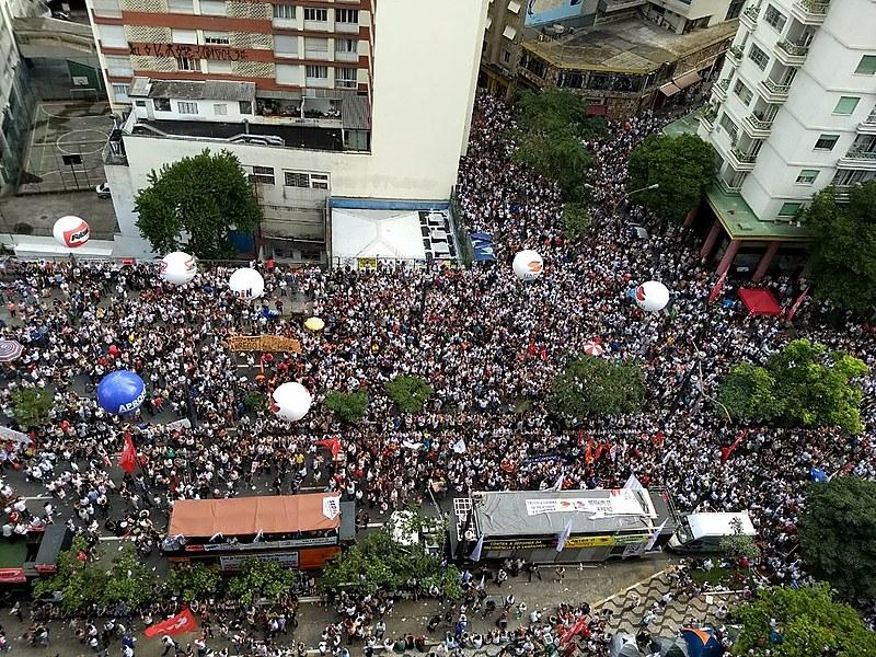 Ato de servidores contra o projeto de Lei (PL) 621/2016 da gestão de João Doria - 15-03-18