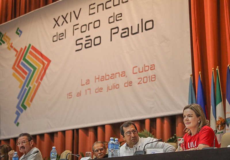 Leaders from 20 Latin American and Caribbean countries attended the 24th Meeting of the São Paulo Forum in Havana, Cuba