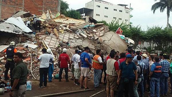 Até o momento,  a catástrofe no Equador deixou 587 falecidos, 8.340 feridos e 153 pessoas desaparecidas