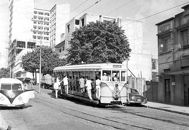 Rua Bahia em Belo Horizonte nos anos 1940