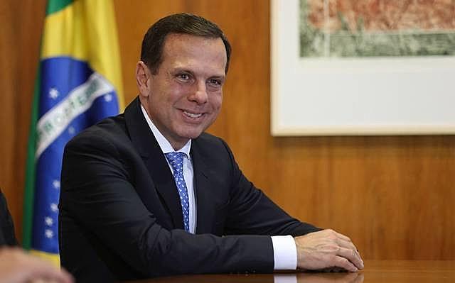 João Doria em visita a Rodrigo Maia em Brasília