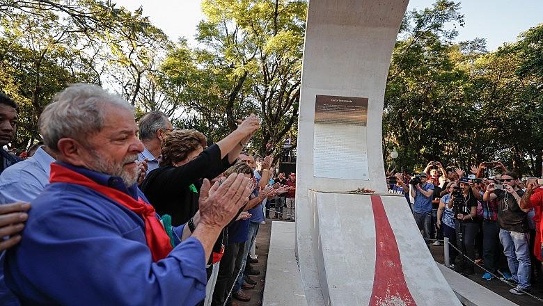 Lula e Dilma visitam a cidade de São Borja (RS), na última quarta-feira (21)