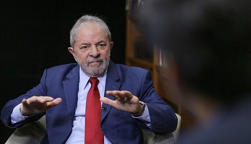 Preso desde abril de 2018, Lula falou sobre assuntos da política nacional e internacional