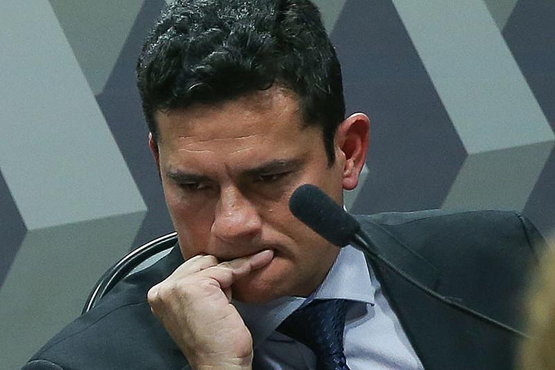Juiz Sérgio Moro, que entregou à imprensa um grampo em que Lula conversa com Dilma Rousseff sobre termo de posse na Casa Civil