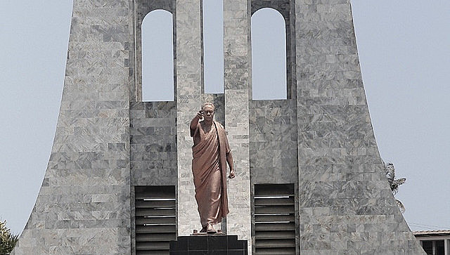 Kwame Nkrumah Mausoleum in Accra, capital of Ghana