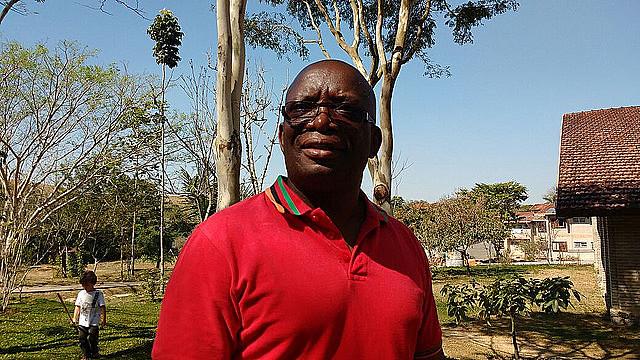 Musumali estuvo en Brasil para participar de un seminario en la Escuela Nacional Florestan Fernandes, en la ciudad de Guararema (São Paulo)
