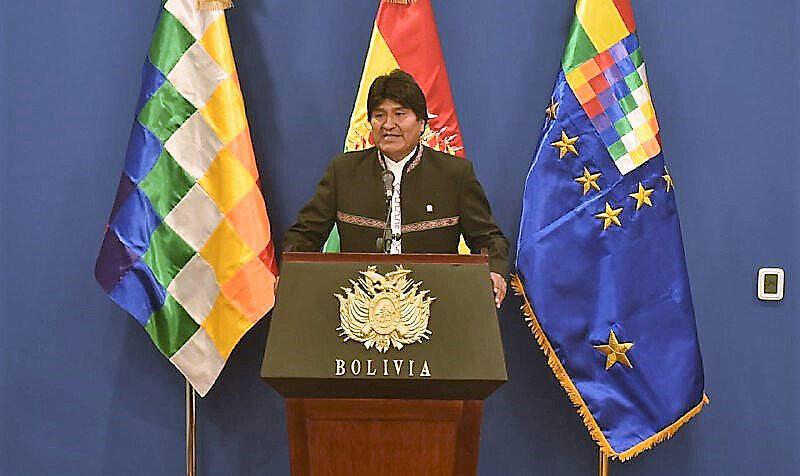 Evo pediu que Chile volte à mesa de negociação por saída ao mar para Bolívia