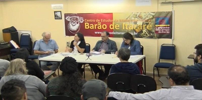 """""""O terrorismo midiático contra a Venezuela"""" é tema de debate na sede da Barão de Itararé"""