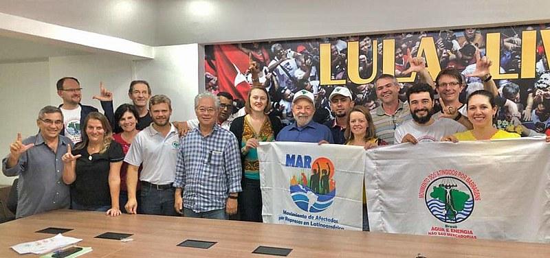 Encontro aconteceu na última quarta-feira (20) na sede do Instituto Lula, em São Paulo (SP)
