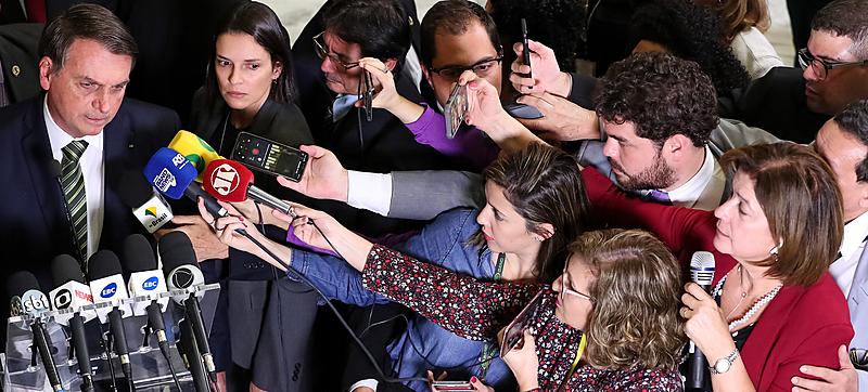 bolsonaro ataques imprensa